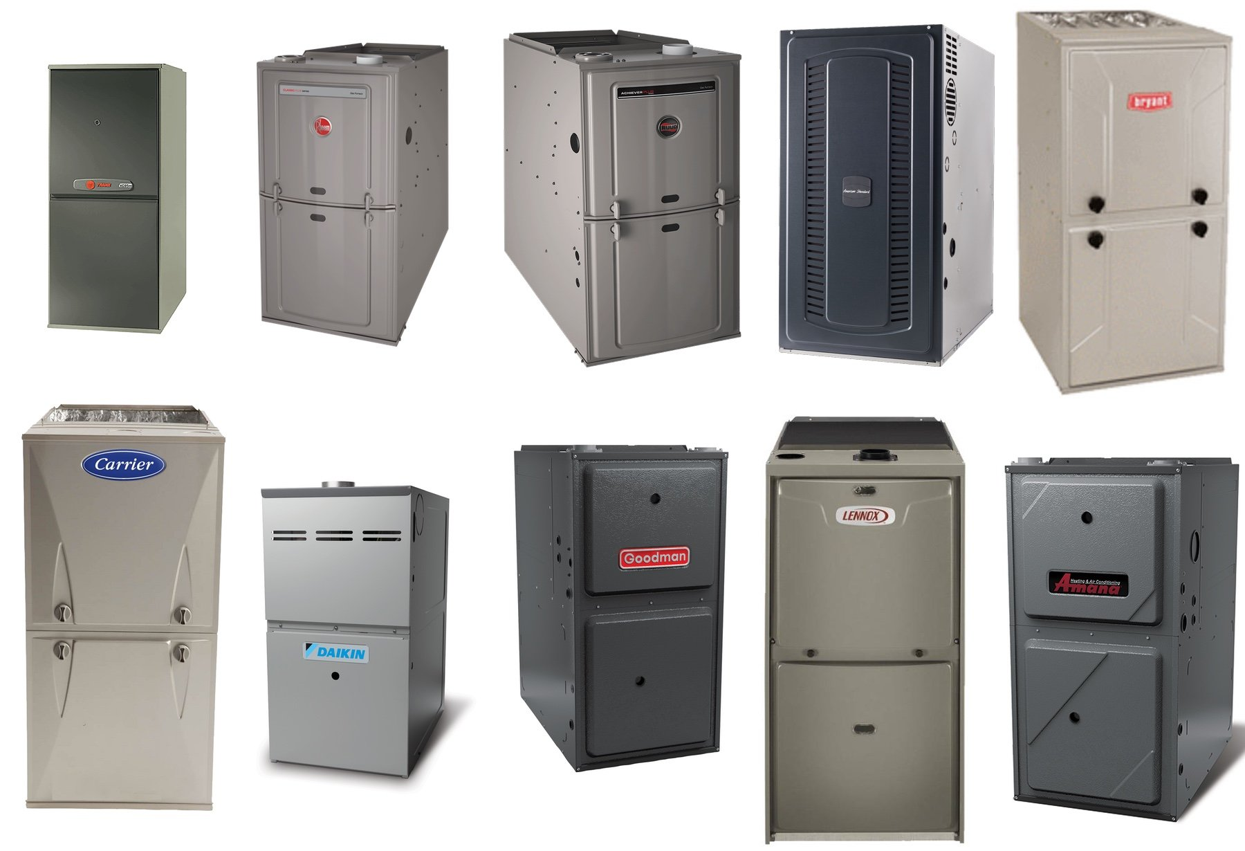 Top 10 Furnace Brands Of 2019 Selecting The Best Furnace Brand